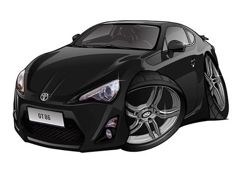 Toyota GT86 Noire