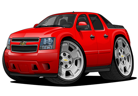 Chevrolet Avalanche Rouge