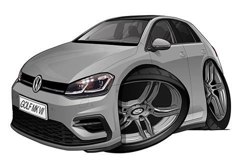 Volkswagen Golf 7 Grise