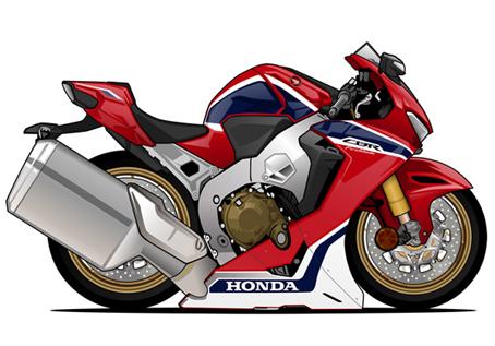 Honda CBR Rouge