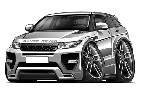 Range Rover Evoque Gris