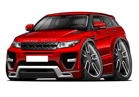 Range Rover Evoque Rouge